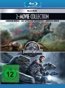 Jurassic World 1 & 2 (Blu-ray), 2 Blu-ray Discs