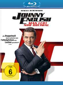 Johnny English - Man lebt nur dreimal (Blu-ray), Blu-ray Disc