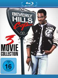 Beverly Hills Cop 1-3 (Blu-ray), Blu-ray Disc