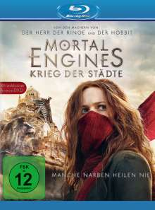 Mortal Engines: Krieg der Städte (Blu-ray), 2 Blu-ray Discs