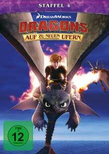 Dragons - Auf zu neuen Ufern Staffel 4, 4 DVDs