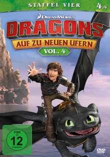 Dragons - Auf zu neuen Ufern Staffel 4 Vol. 4, DVD