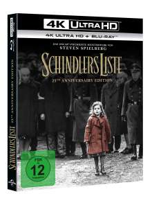 Schindlers Liste (25th Anniversary Edition) (Ultra HD Blu-ray & Blu-ray), Ultra HD Blu-ray