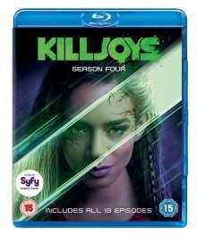 Killjoys Season 4 (Blu-ray) (UK Import), 2 Blu-ray Discs