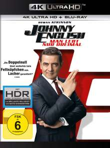 Johnny English - Man lebt nur dreimal (Ultra HD Blu-ray & Blu-ray), Ultra HD Blu-ray