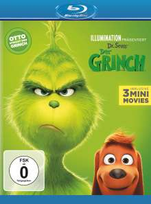 Der Grinch (2018) (Blu-ray), Blu-ray Disc