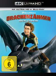 Drachenzähmen leicht gemacht (Ultra HD Blu-ray & Blu-ray), 2 Ultra HD Blu-rays