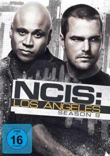 Navy CIS: Los Angeles Season 9, 6 DVDs