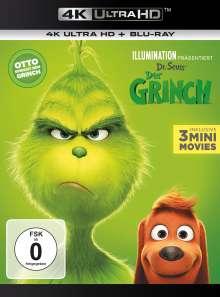 Der Grinch (2018) (Ultra HD Blu-ray & Blu-ray), 2 Ultra HD Blu-rays