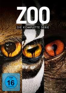 Zoo (Komplette Serie), 12 DVDs