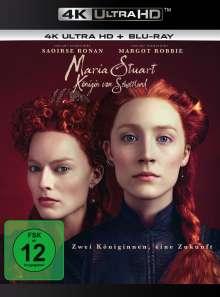 Maria Stuart, Königin von Schottland (2018) (Ultra HD Blu-ray & Blu-ray), 2 Ultra HD Blu-rays