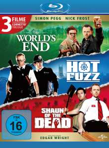 Cornetto Trilogie: The World's End / Hot Fuzz / Shaun of the Dead (Blu-ray), Blu-ray Disc