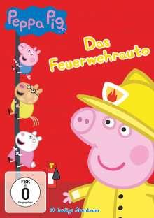 Peppa Pig Vol. 12: Das Feuerwehrauto, DVD