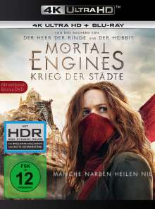 Mortal Engines: Krieg der Städte (Ultra HD Blu-ray & Blu-ray), 3 Ultra HD Blu-rays
