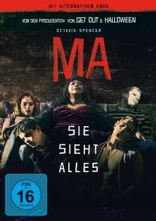 Ma - Sie sieht alles, DVD