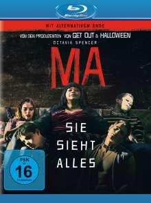 Ma - Sie sieht alles (Blu-ray), Blu-ray Disc