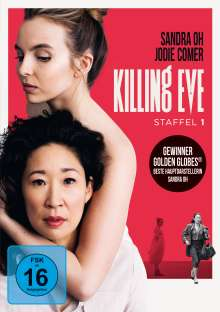 Killing Eve Season 1, 2 DVDs