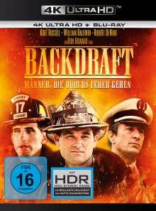 Backdraft - Männer, die durchs Feuer gehen (Ultra HD Blu-ray & Blu-ray), 1 Ultra HD Blu-ray und 1 Blu-ray Disc