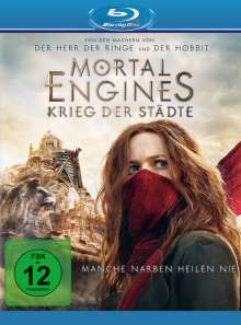 Mortal Engines: Krieg der Städte (Blu-ray), Blu-ray Disc