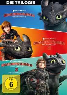 Drachenzähmen leicht gemacht 1-3, 3 DVDs
