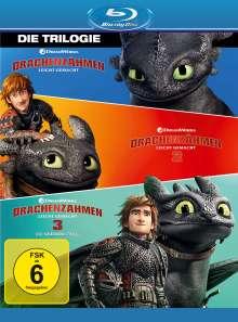 Drachenzähmen leicht gemacht 1-3 (Blu-ray), 3 Blu-ray Discs