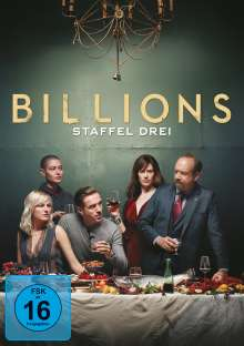 Billions Staffel 3, 4 DVDs