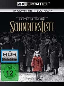 Schindlers Liste (Ultra HD Blu-ray & Blu-ray), 1 Ultra HD Blu-ray und 2 Blu-ray Discs