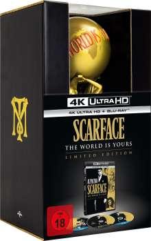 Scarface (1982) (Limited Edition) (Ultra HD Blu-ray & Blu-ray im Digipak), 3 Ultra HD Blu-rays