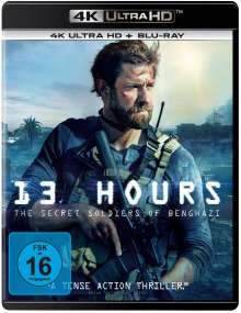13 Hours - The Secret Soldiers of Benghazi (Ultra HD Blu-ray & Blu-ray), Ultra HD Blu-ray