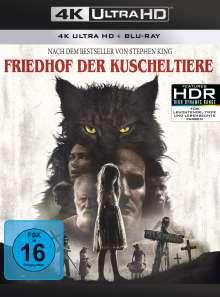Friedhof der Kuscheltiere (2019) (Ultra HD Blu-ray & Blu-ray), 1 Ultra HD Blu-ray und 1 Blu-ray Disc
