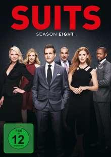 Suits Season 8, 4 DVDs