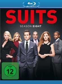 Suits Season 8 (Blu-ray), 4 Blu-ray Discs