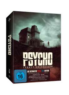 Psycho Legacy Collection (Deluxe Edition) (Blu-ray), 8 Blu-ray Discs