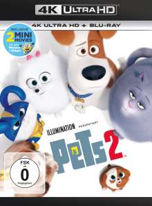 Pets 2 (Ultra HD Blu-ray & Blu-ray), Ultra HD Blu-ray
