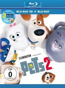 Pets 2 (3D & 2D Blu-ray), 2 Blu-ray Discs