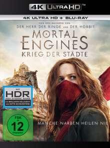 Mortal Engines: Krieg der Städte (Ultra HD Blu-ray & Blu-ray), 1 Ultra HD Blu-ray und 1 Blu-ray Disc