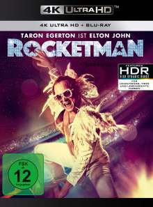 Rocketman (Ultra HD Blu-ray & Blu-ray), 1 Ultra HD Blu-ray und 1 Blu-ray Disc