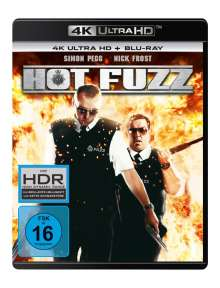 Hot Fuzz (Ultra HD Blu-ray & Blu-ray), 2 Ultra HD Blu-rays