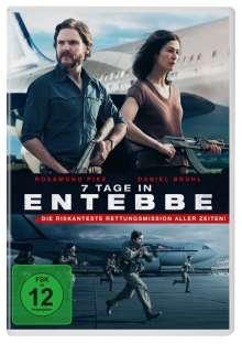 7 Tage in Entebbe, DVD