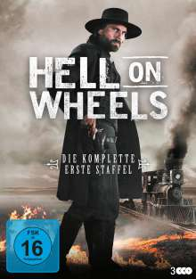 Hell on Wheels Staffel 1, 3 DVDs