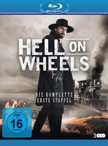 Hell on Wheels Staffel 1 (Blu-ray), 3 Blu-ray Discs