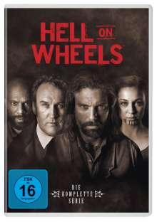 Hell on Wheels (Komplette Serie), 17 DVDs