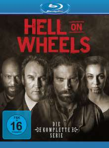 Hell on Wheels (Komplette Serie) (Blu-ray), 17 Blu-ray Discs