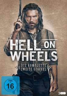 Hell on Wheels Staffel 2, 3 DVDs