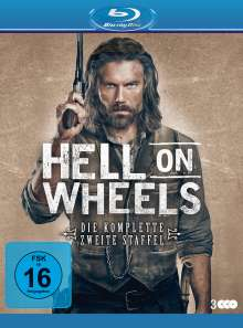 Hell on Wheels Staffel 2, 3 Blu-ray Discs