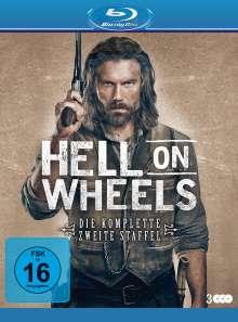 Hell on Wheels Staffel 2 (Blu-ray), 3 Blu-ray Discs