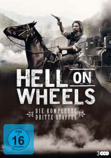 Hell on Wheels Staffel 3, 3 DVDs