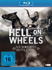 Hell on Wheels Staffel 3 (Blu-ray), 3 Blu-ray Discs