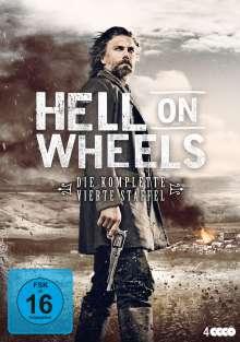 Hell on Wheels Staffel 4, 4 DVDs