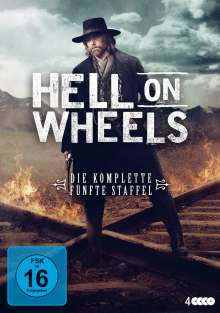 Hell on Wheels Staffel 5 (finale Staffel), 4 DVDs